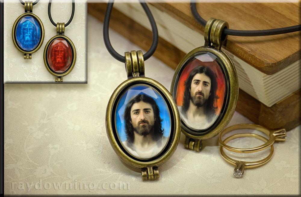 Jesus Shroud of Turin Pendant