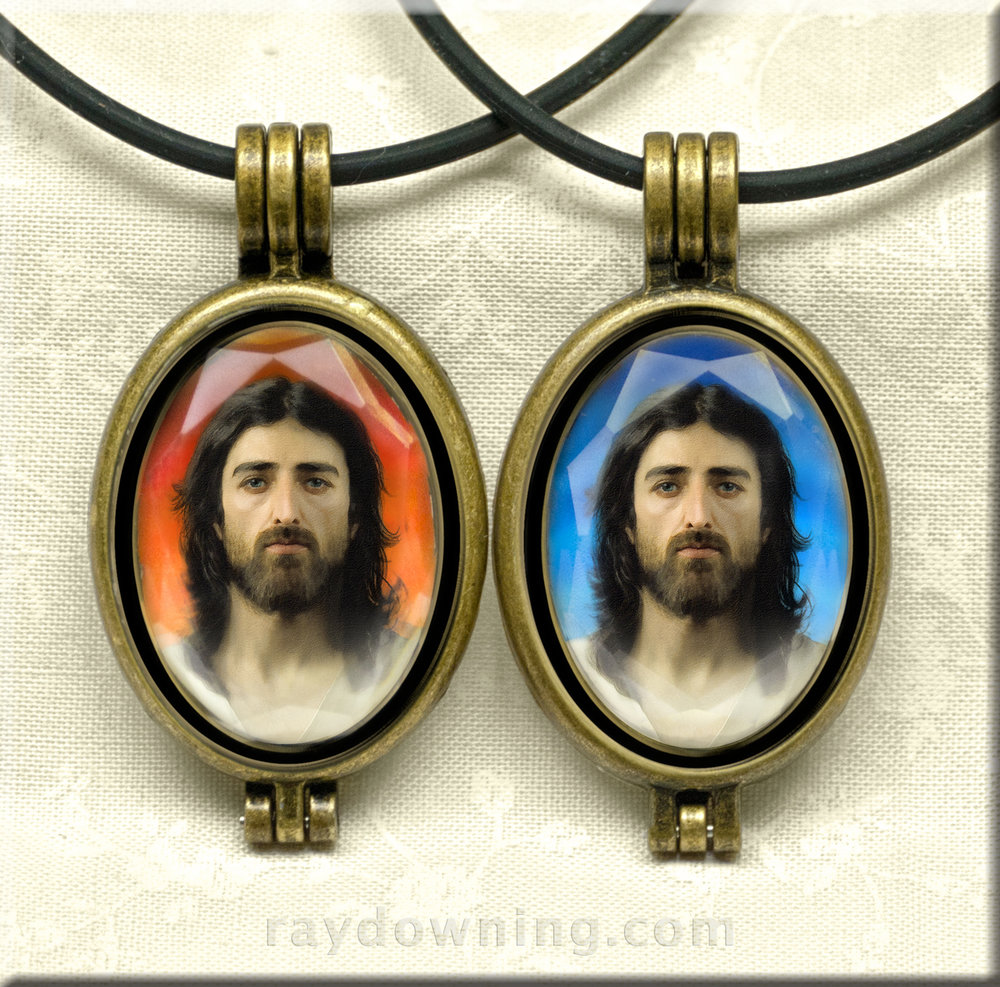 Jesus Pictures Jewelry Shroud of Turin Ray Downing