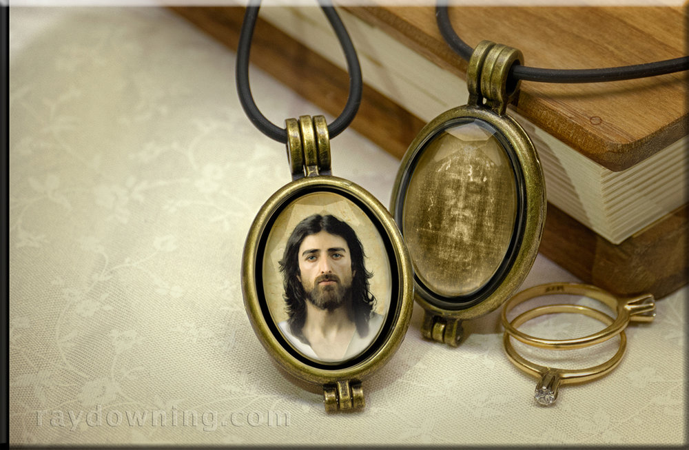 Jesus jewelry Ray Downing Shroud of Turin