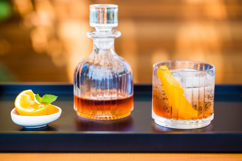 Zori Negroni - Chase gin, campari, vermouth rosso, orange bitter, soda