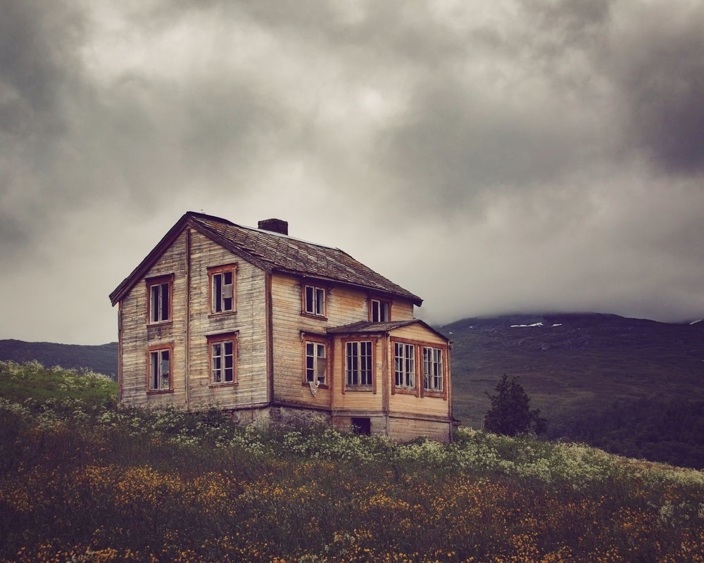 Stunning images of abandoned houses above the Arctic circle - Lonely Planet Travel News. Article by James Gabriel Martin. Photographs by Britt M