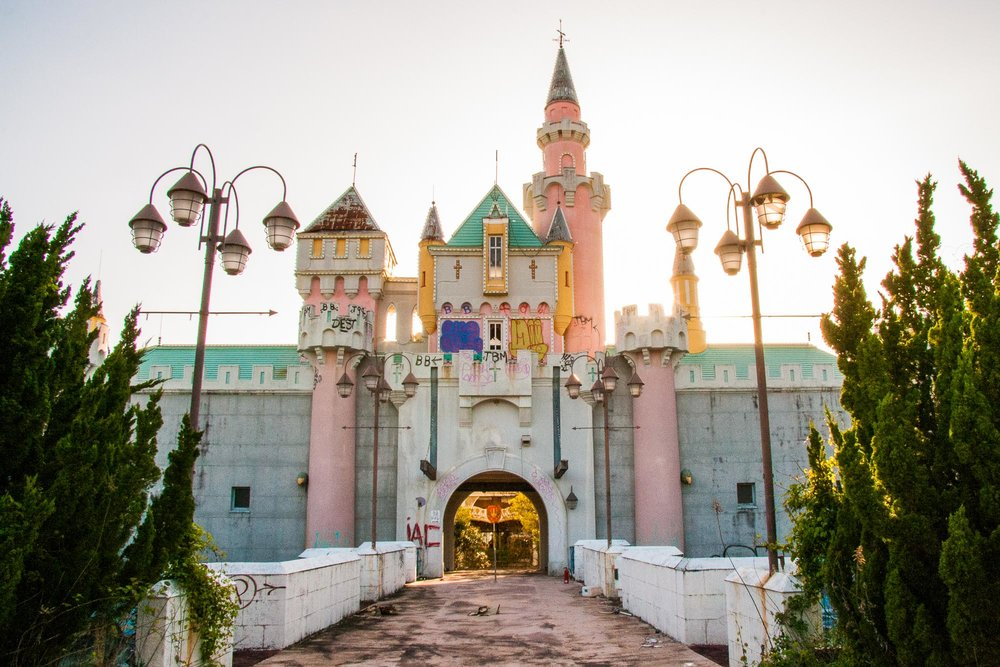 See inside Japan's abandoned Nara Dreamland amusement park - Lonely Planet Travel News. Article by James Gabriel Martin. Photographs by Simon Armer