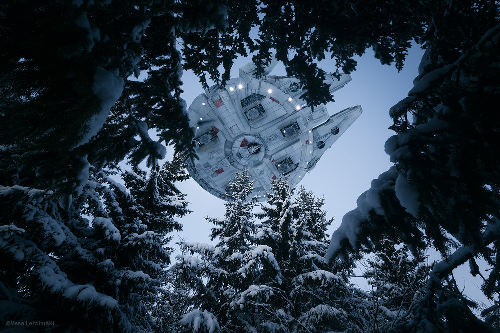 Has the Millennium Falcon been spotted flying over Helsinki? - Lonely Planet Travel News. Article by James Gabriel Martin. Photographs by Vesa Lehtimäki