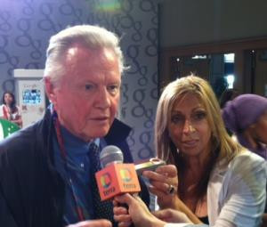 Rose with Jon Voight