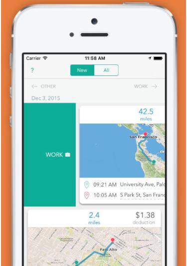 everlance mileage tracking app