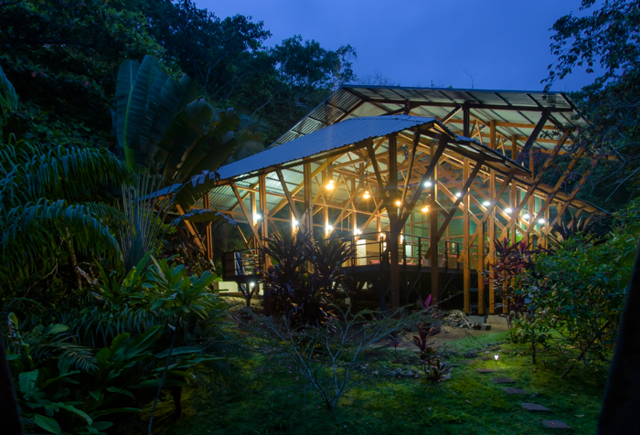 Modern accommodations yoga retreat costa rica