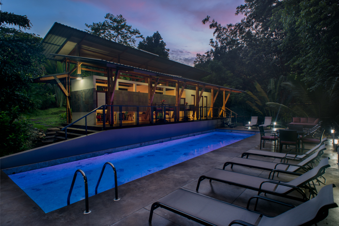 luxury Modern accommodations yoga retreat costa rica