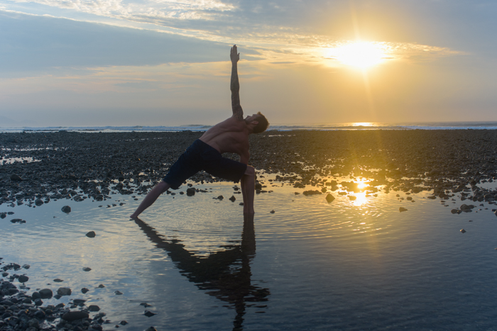 Costa Rica yoga teacher training certification program beach