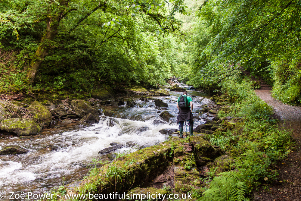 Watersmeet is another great spot for long exposure photography - bring your tripod (there's not much light under the canopy of trees) - and your wellies!