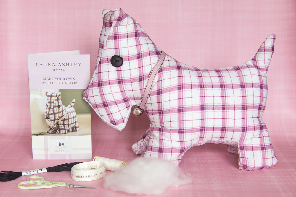 Laura Ashley Guest Post How To Make A Westie Dog Doorstop
