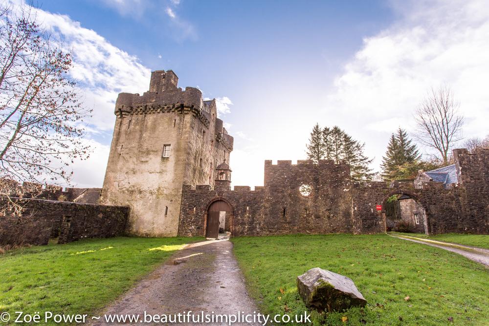 Saddell Castle, Kintyre, Scotland