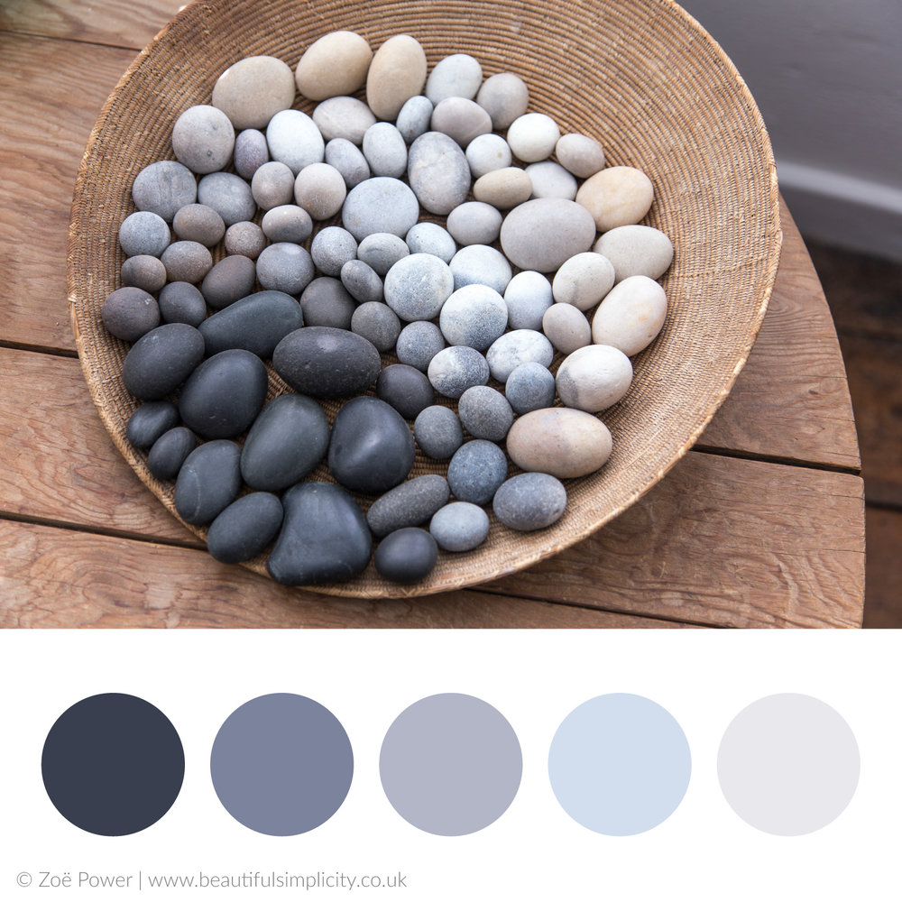 Pebble grey colour palette 2 | Kettle's Yard, Cambridge, UK