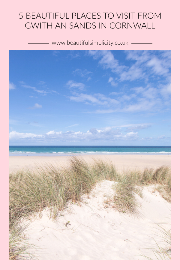 5 Beautiful Places to Visit from Gwithian Sands in Cornwall