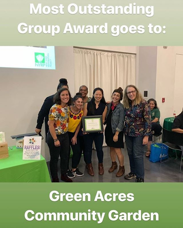 So proud of our people! #NYRP #growwithus #gardenersgathering2018