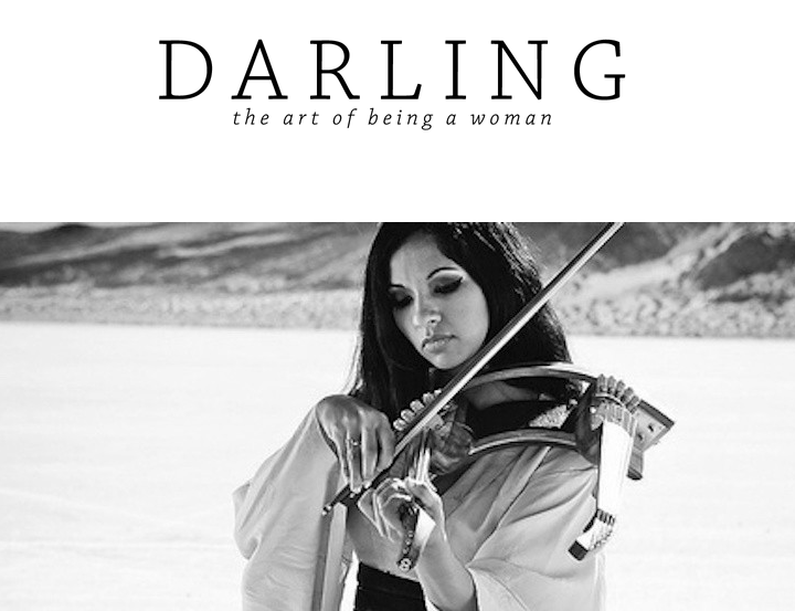 Darling Magazine: The Achiever Embodied, Gingger Shankar