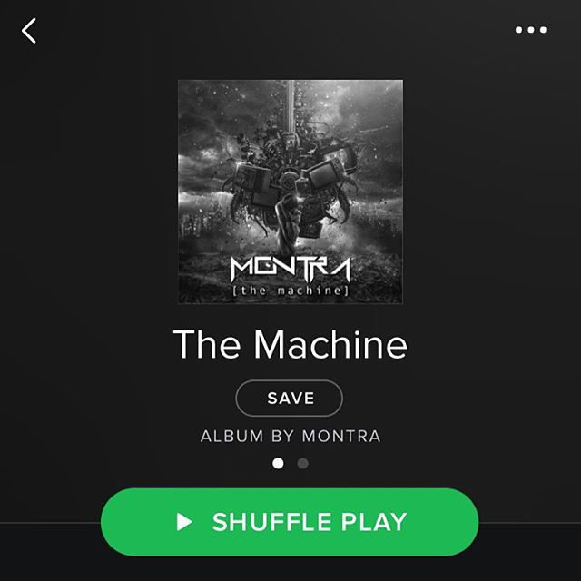 """It's finally happened! """"The Machine"""" is now on Spotify, Google Play, and most other music apps! If it's not on yours, it will be in several days. Thanks for your support & enjoy! #montra #metal #spotify #googleplay #itunes #pandora #music #sanjose #bayarea #prog #progressivemetal #rock #hardrock #progrock #instacool #instalike #instadaily #instalove #instaband #instamusic #instaphoto"""