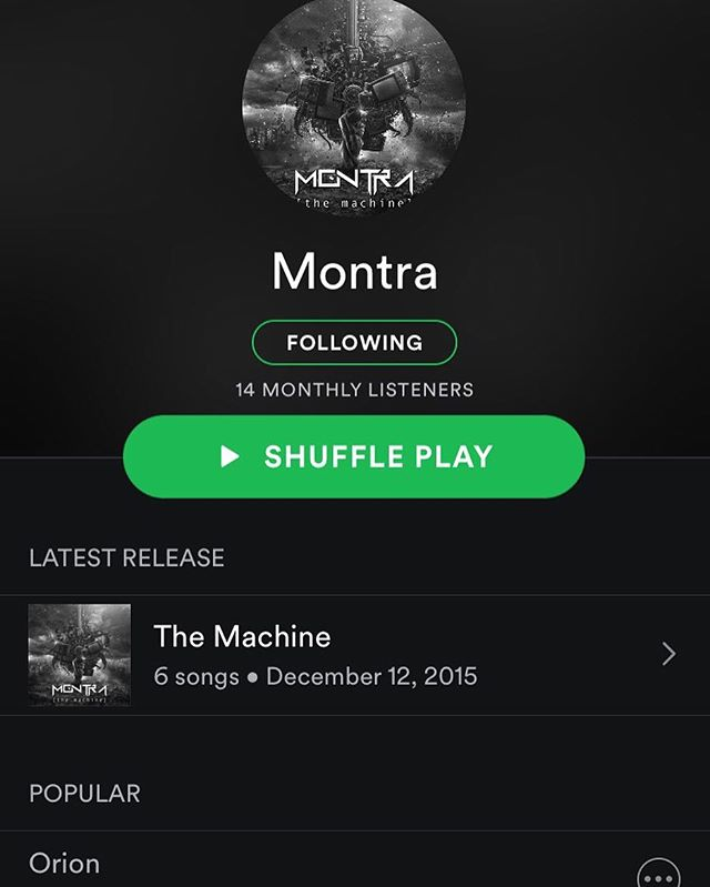 Just so you know, we are on @spotify , @googleplaymusic , @applemusic , @itunes and pretty much all the sources of music streaming! Click those little follow buttons and add us to a playlist! #Spotify #googleplay #applemusic #itunes #music #metal #prog #progressive #progressivemetal #btbam #periphery #tesseract #dreamtheater #symphonyx