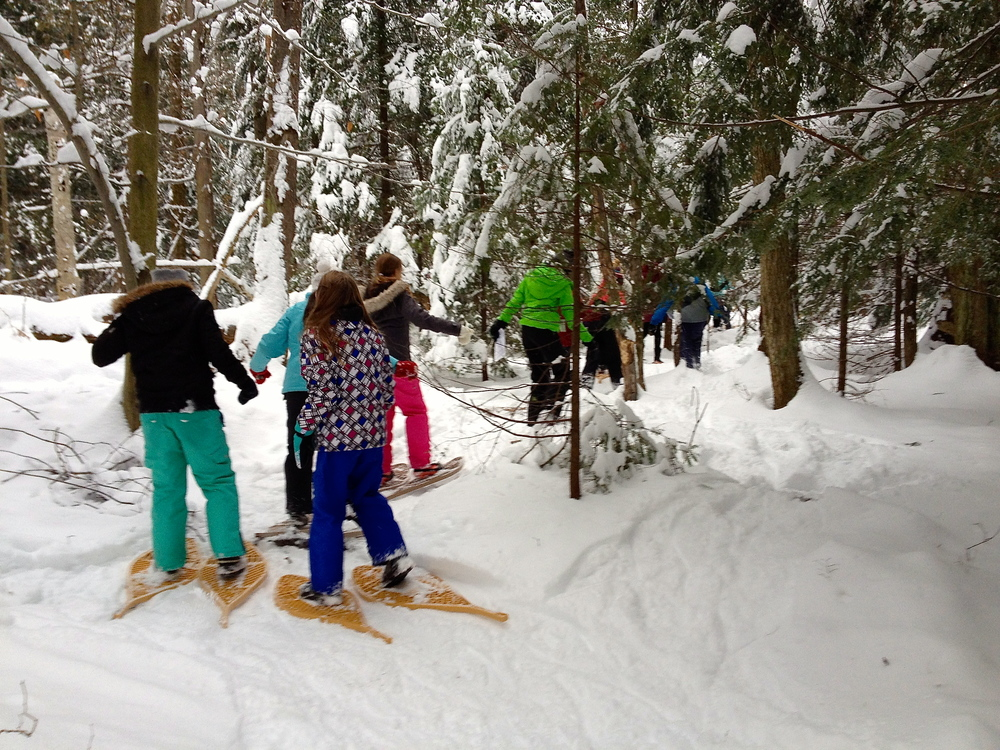 School field trip to MacSkimming - an Outdoor Education Centre in Ottawa's east end.