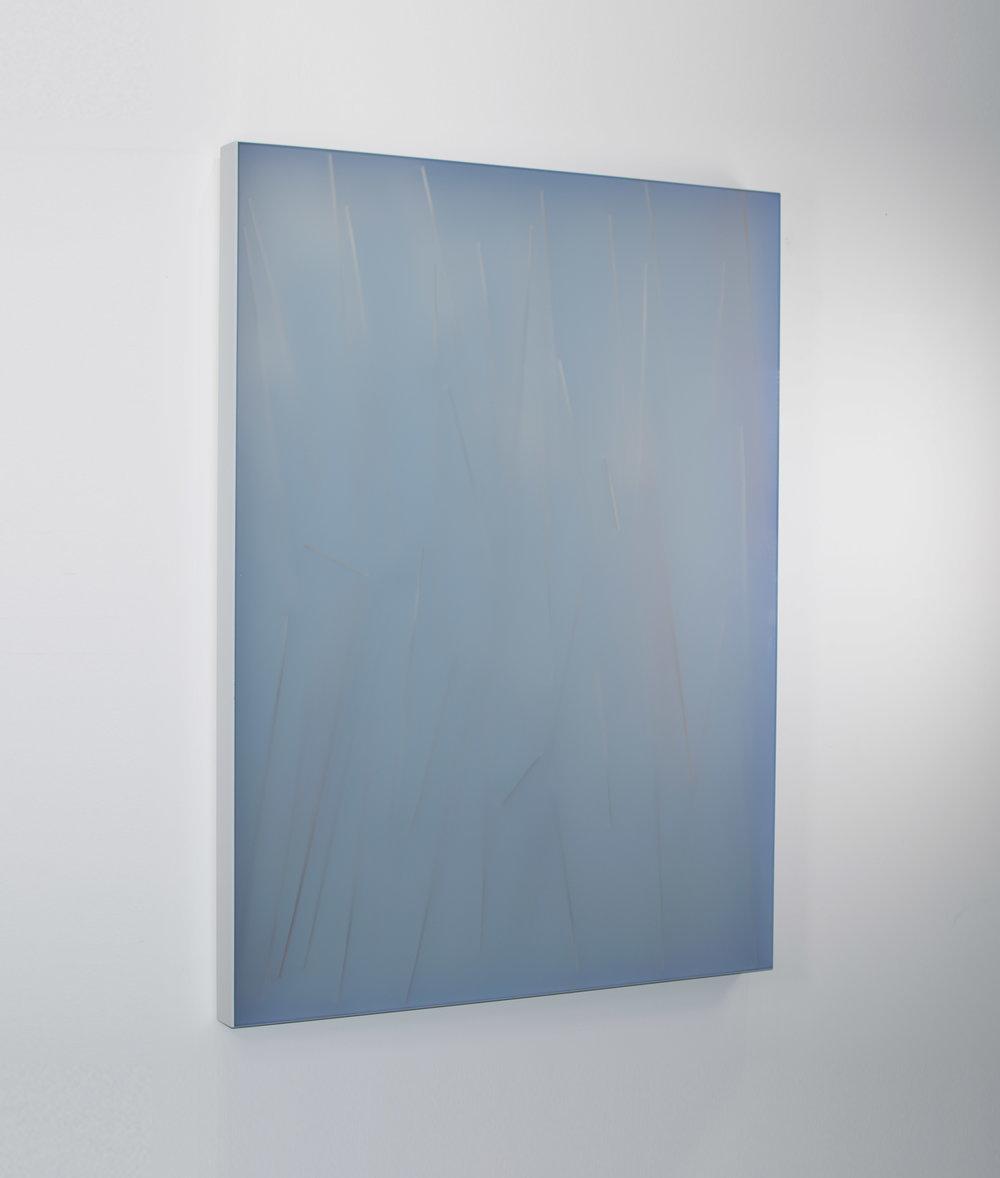 KAL MANSUR | DPM - BLUE 36 | 48 x 36 in | SOLD