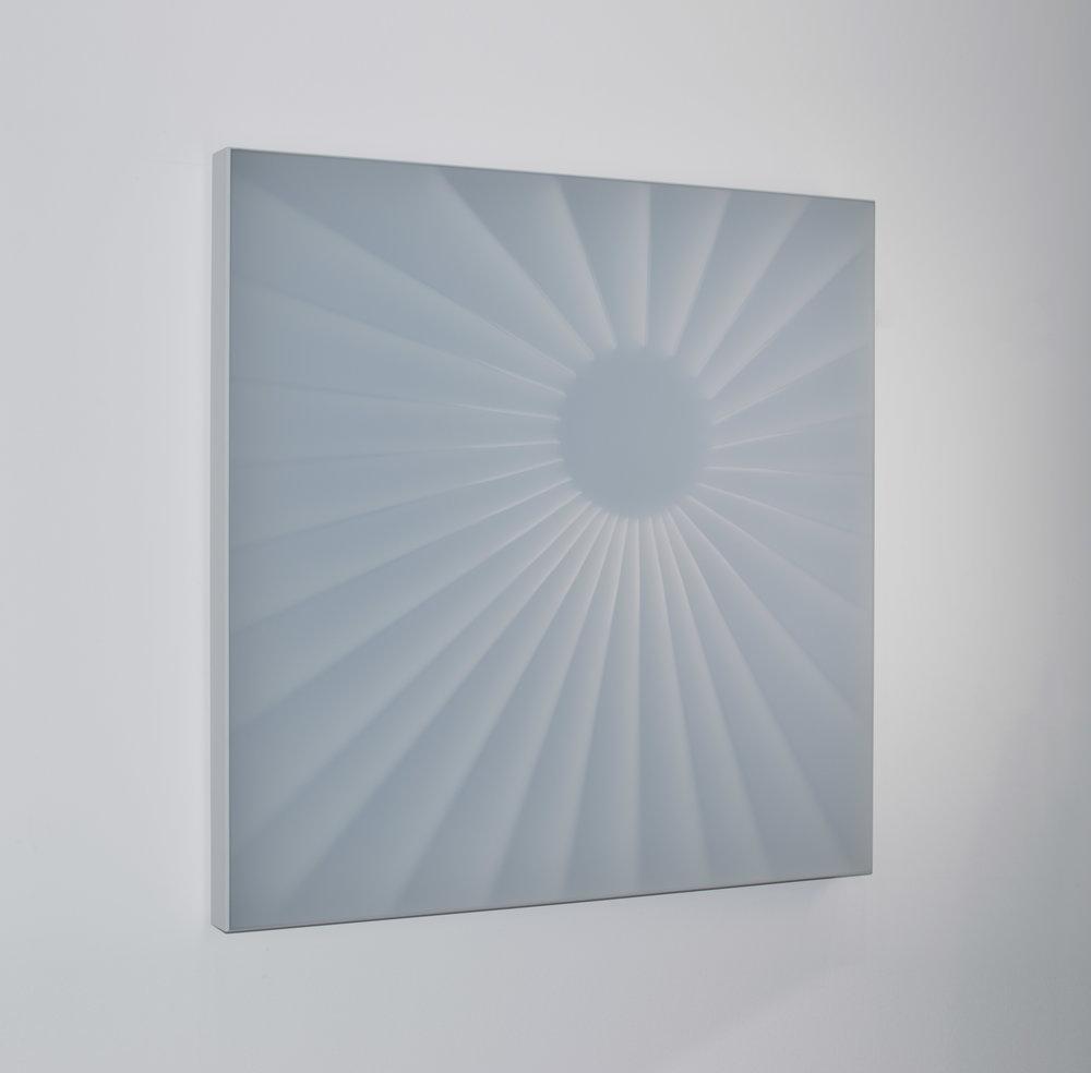 KAL MANSUR | UNTITLED 2 | 32 x 32 x 3 in | SOLD
