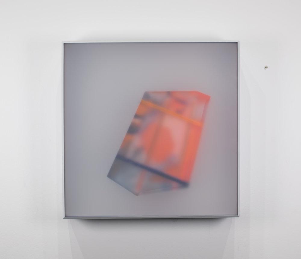 KAL MANSUR | SERIES: PAKORA - GRAY 5 | 12 x 12 x 2 in | $550 |  INQUIRE