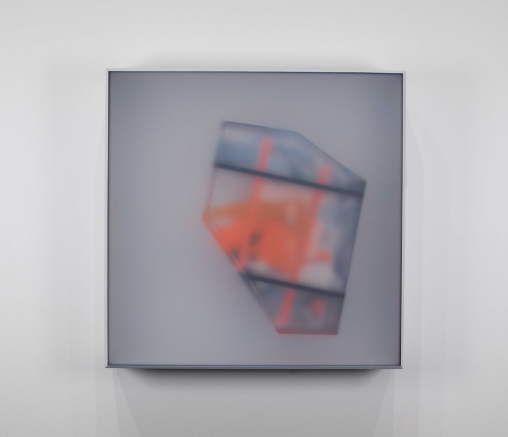 KAL MANSUR | SERIES: PAKORA - GRAY 1 | 12 x 12 x 2 in | $550 | INQUIRE