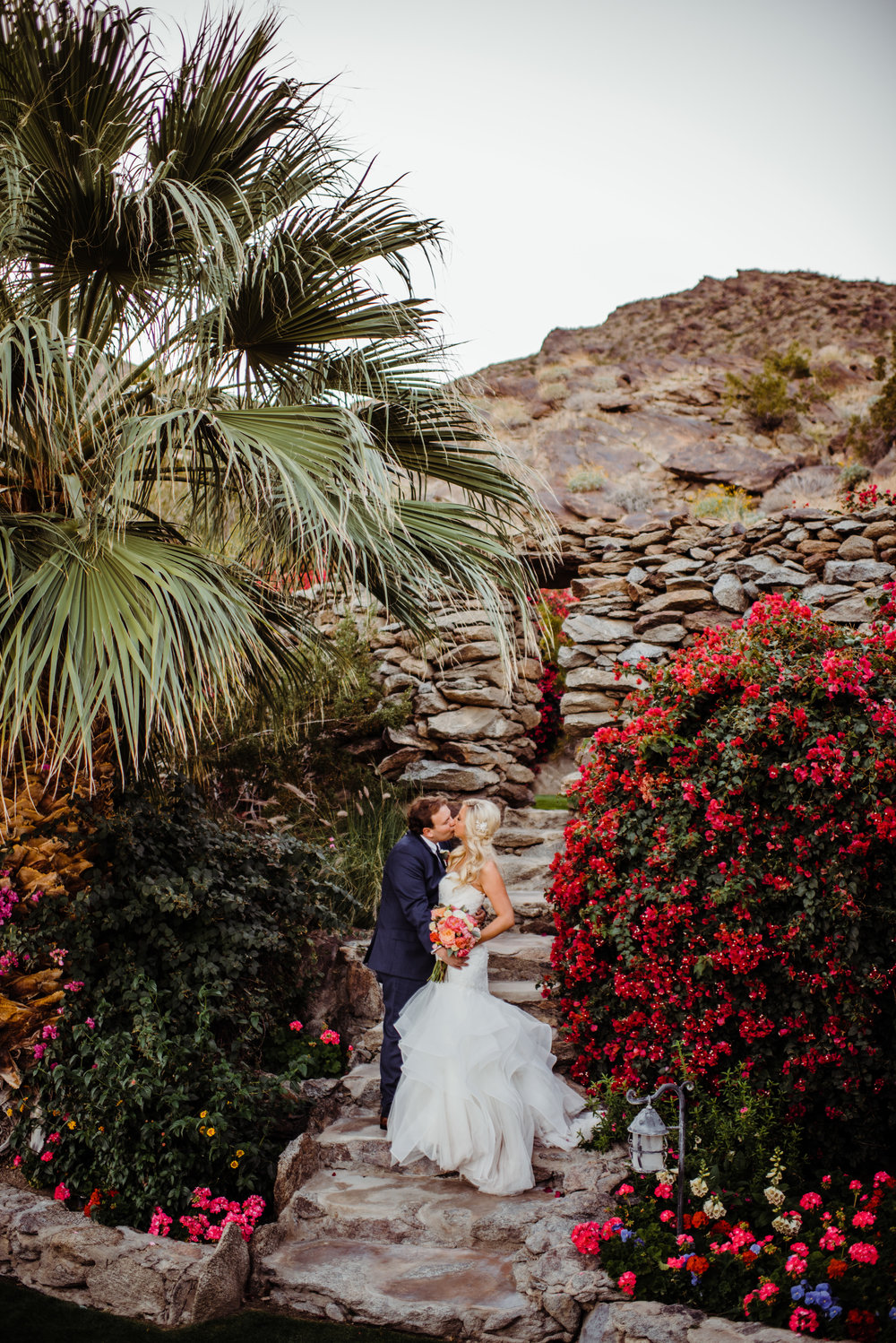 Summer Palm Springs Wedding - O'Donnell House, Palm Springs