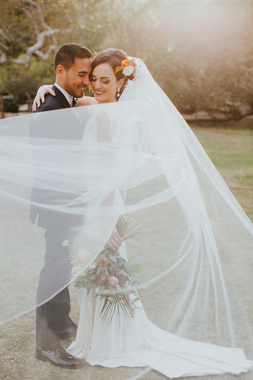 Modern and Romantic Wedding - Calamigos Ranch, Malibu
