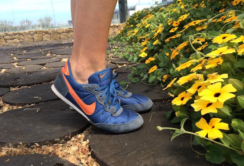 Os meus adorados Nike (tão velhinhos)!