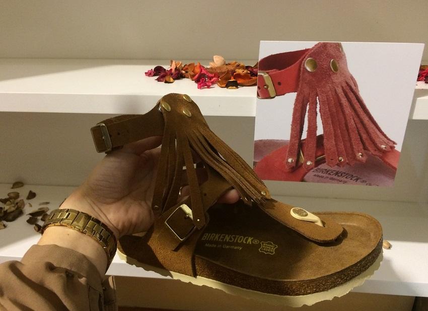 Uma versão sandália muito  boho style !
