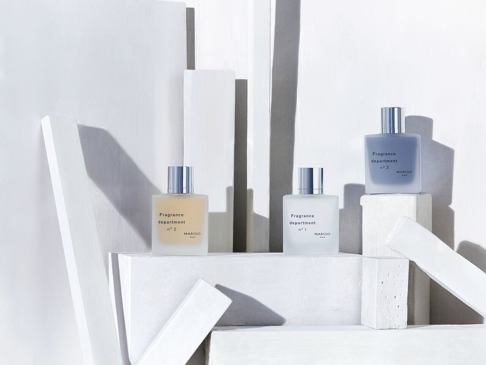 Fragrance Department    a linha de perfumes masculinos Mango