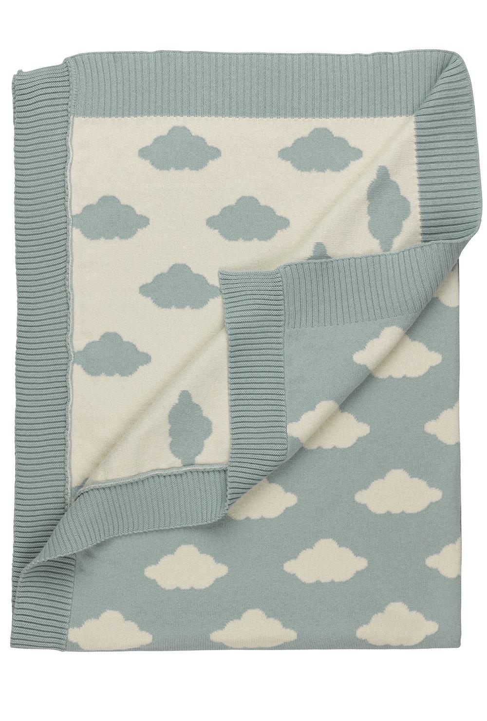 HUGGEE_Manta Tricot Nuvens Grandes_base azul éter_dupla face_€53,90_100% algodão orgânico_certificado GOTS_2.jpg