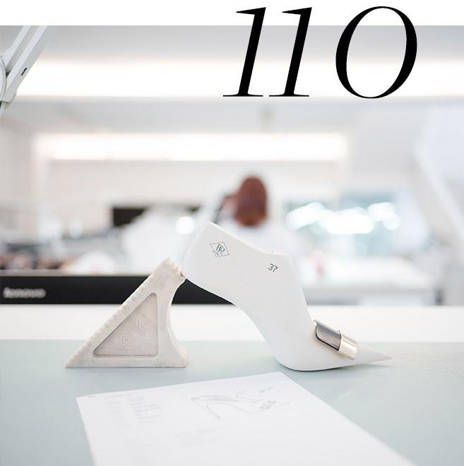 110 passos na sua produção