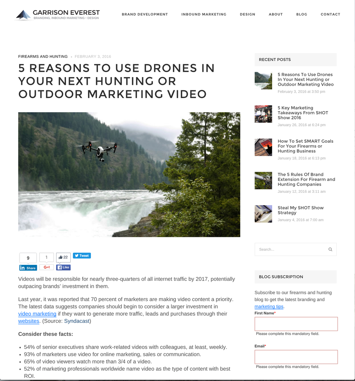 GarrisonEverest.Drones.Hunting.MarketingVideo