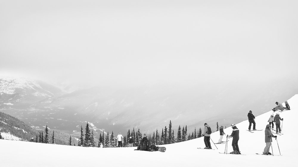 Skiing I, 2017