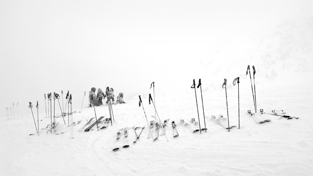 Skiing VII, 2018.