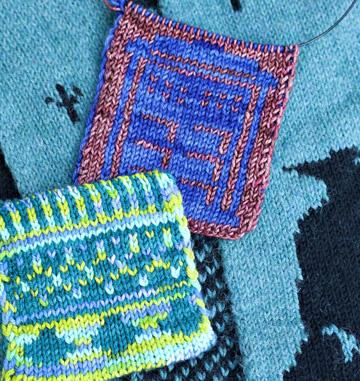 Double Knitting © Aleen Caplan Yamasaki
