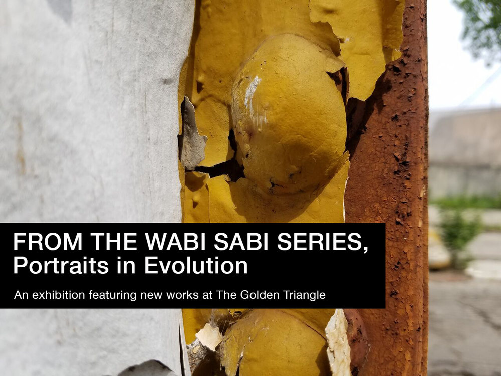 From the Wabi Sabi Series, Portraits in Evolution