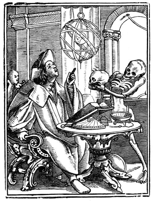 """The Astrologer,"" Hans Holbein the Younger (1538)"