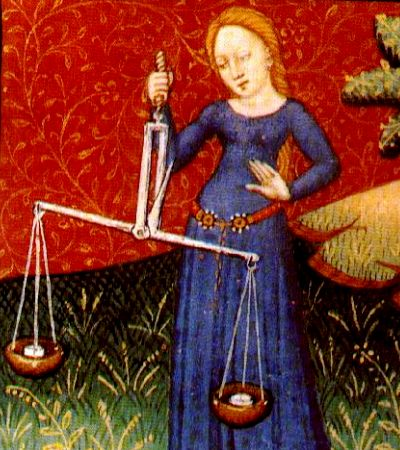 """Libra,"" from a 15th century Norman astrology book?"