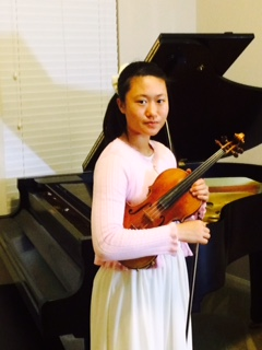 Ping Jing Toong, Violin - YACC 2017-2018 Competition Winner