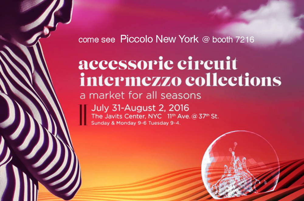 ENK Piccolo NY at the Summer 2016 New York Show
