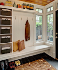 Entryway and Mudroom Organizing
