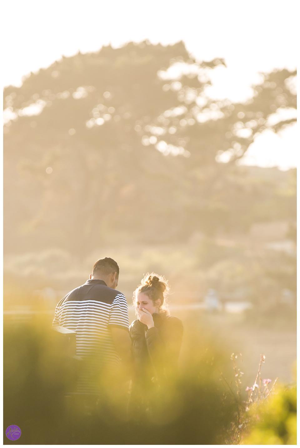 SLO Photographer Surprise Proposal