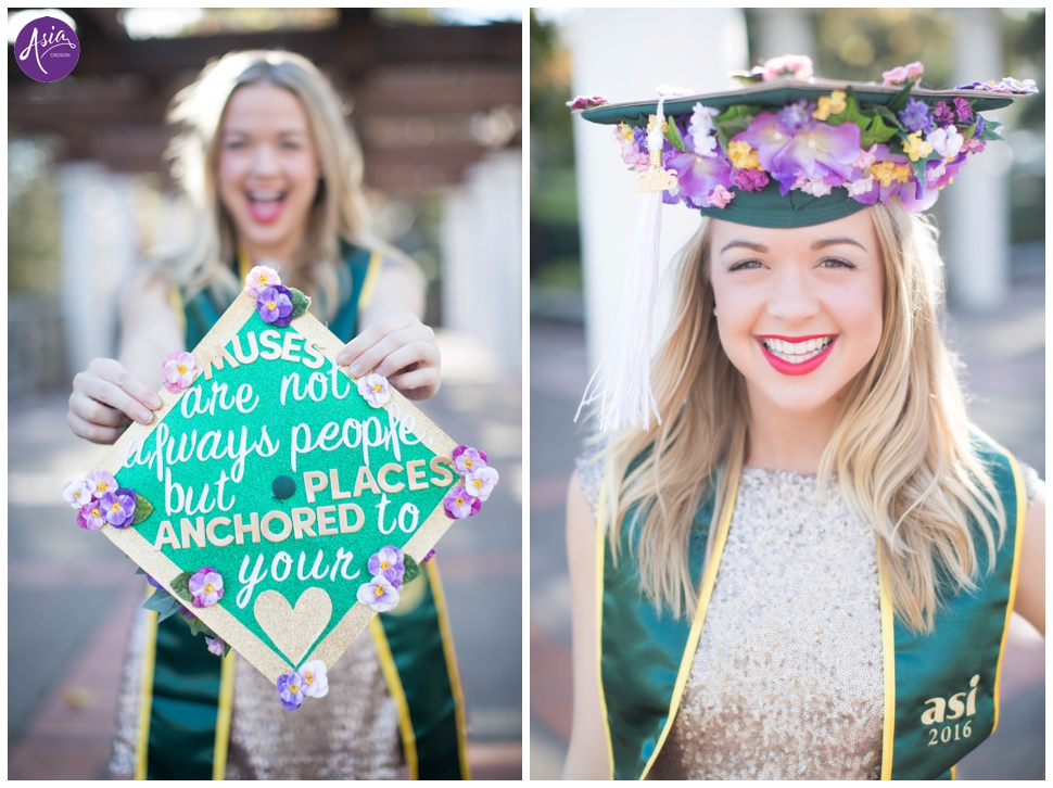 Mallory Senior Photos Cap and Gown // San Luis Obispo Senior ...
