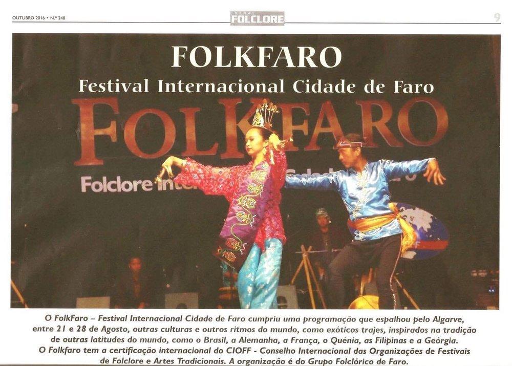 Portugal - Jornal Folclore - Portugal