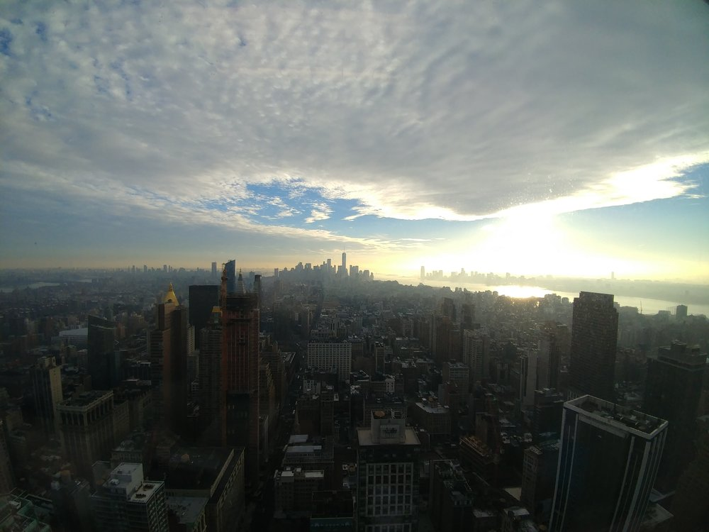View from our new offices. Empire State Building 350 Fifth Avenue 59th Floor New York, New York 10118
