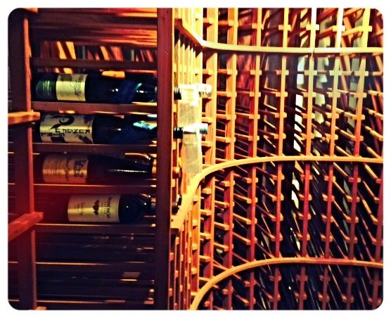 the wine cellar needs some love!