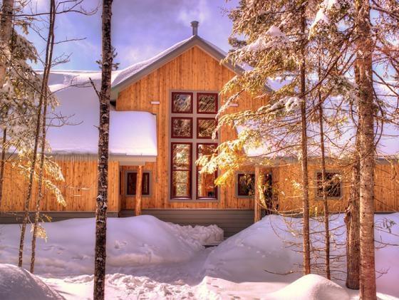 the divine Grand Falls Hut