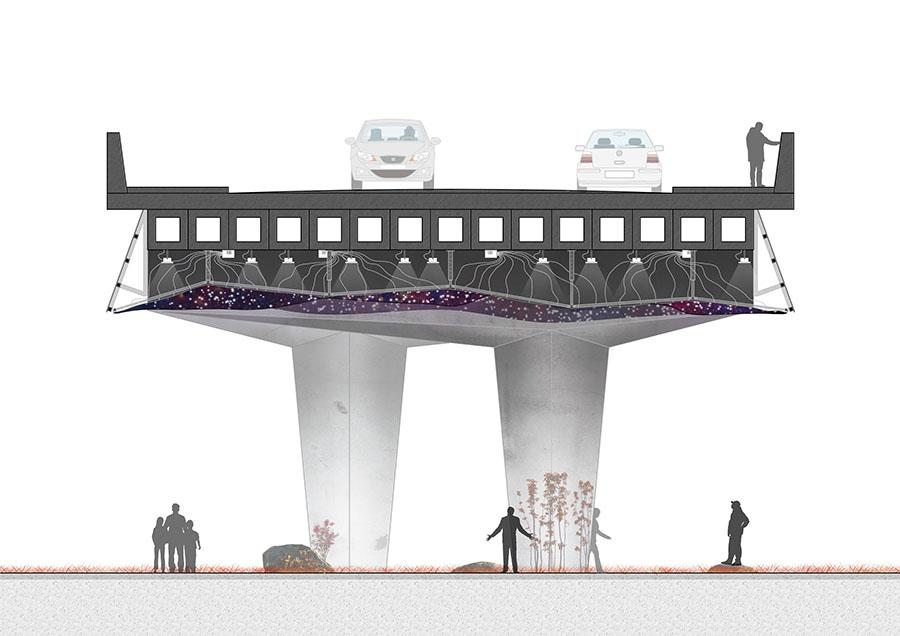 Sección puente tipo 1